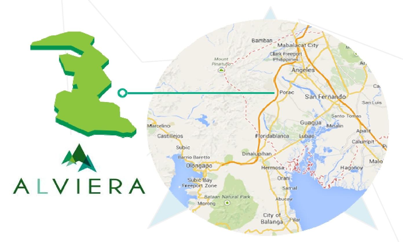 Alviera Estate Porac Pampanga Ayala Land Property Guide - Porac map